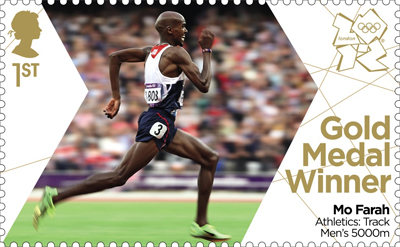 Mo Farah – Royal Mail